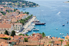Port - Hvar Obrazy Royalty Free