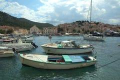 Port in Hvar. Stock Photo