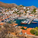 Port of Hydra Stock Photos