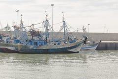 port i agadir Royaltyfri Fotografi
