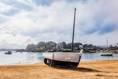 Port i Brittany Royaltyfri Foto