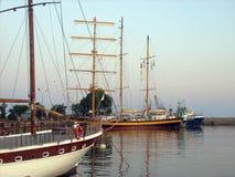 Port i den Besebar Bulgarien fotografering för bildbyråer
