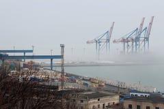 Port i dimman Royaltyfri Bild