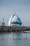 Port i Hel, wysep Helski, Polen för 'för PÃ-³ Å Arkivbild