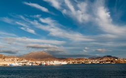 Port i miasto Mindelo, Sao Vincente wyspa, przylądek Verde obrazy royalty free