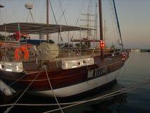 Port i Nesebar royaltyfria foton