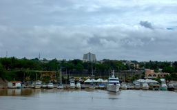 Port i Santo Domingo Royaltyfri Fotografi