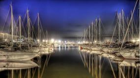 Port of Ibiza stock photo