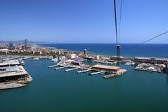 Port III de Barcelone Photo libre de droits