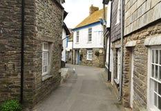 Port il villaggio di Isaac, Cornovaglia, Inghilterra, Regno Unito immagine stock libera da diritti