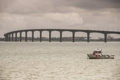 Port Ille de re Arkivfoton