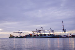 Port, industrie maritime images stock