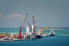 Port industriel Images stock