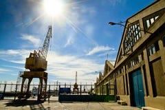 Port of Ingeniero White in Argentina. Stock Photography