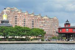 Port intérieur à Baltimore, le Maryland photographie stock libre de droits