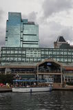 Port intérieur à Baltimore, le Maryland images libres de droits