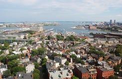 Port intérieur de Boston Photographie stock libre de droits