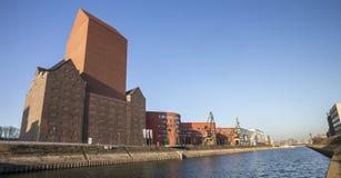 port intérieur de Duisbourg Allemagne Photo libre de droits