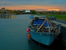 Port intérieur de Syracuse Images stock