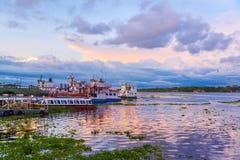 Port of Iquitos, Peru Stock Images