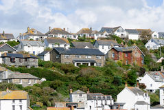 Port Isaac in Cornwall Stock Photo
