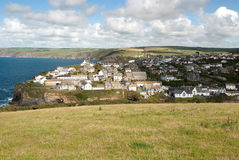 Port Isaac in Cornwall Royalty Free Stock Image