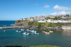 Port Isaac in Cornwall Stock Photography
