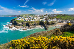 Port Isaac Cornwall England Royalty Free Stock Photography