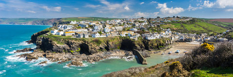 Port Isaac Cornwall England photo stock