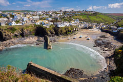 Port Isaac Cornwall England photos stock