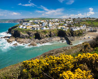 Port Isaac Cornwall England Royalty Free Stock Image