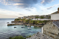 Port Isaac in Cornwall Royalty Free Stock Photo