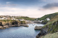 Port Isaac in Cornwall Stock Image