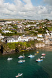 Port Isaac in Cornwall Royalty Free Stock Photos