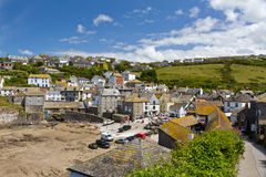 Port Isaac harbour. View, Cornwall, England, UK Royalty Free Stock Photos