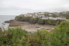 Port Isaac Harbour Photo stock