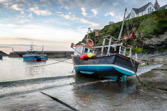 Port Isaac Harbour Royalty Free Stock Photography