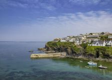 Port Isaac a small village. Port Isaac an idyllic fishing village in Cornwall, England Royalty Free Stock Photo