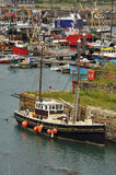 Fishing harbour of Newlyn. Cornwall, England, UK Royalty Free Stock Image