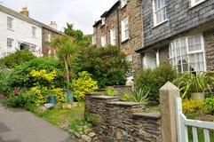 Port Isaac village, Cornwall, England, UK Stock Photo