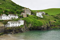 Port Isaac village, Cornwall, England, UK Royalty Free Stock Image