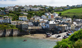 Port Isaacs. Cornwall used in tv program Doc Martin Royalty Free Stock Photography