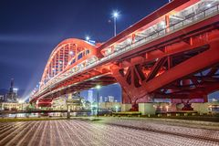 Port Island, Kobe, Japan Stock Photography