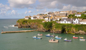 Port Issac Harbour Royalty Free Stock Image