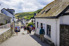Port Issac hot sunny summers afternoon Stock Photo