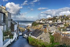 Port Issac stock photography