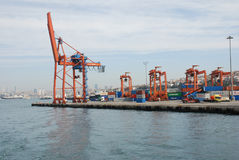 Port of Istanbul Royalty Free Stock Photos