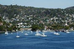 port ixtapa połowów Zdjęcia Royalty Free