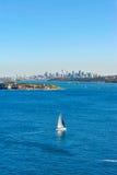 Port Jackson. Sydney Harbour in Australia royalty free stock photo