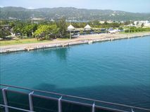 Port Jamaica Royaltyfria Foton